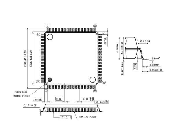 QFP,LQFP,TQFP | LSI Package | LAPIS Semiconductor